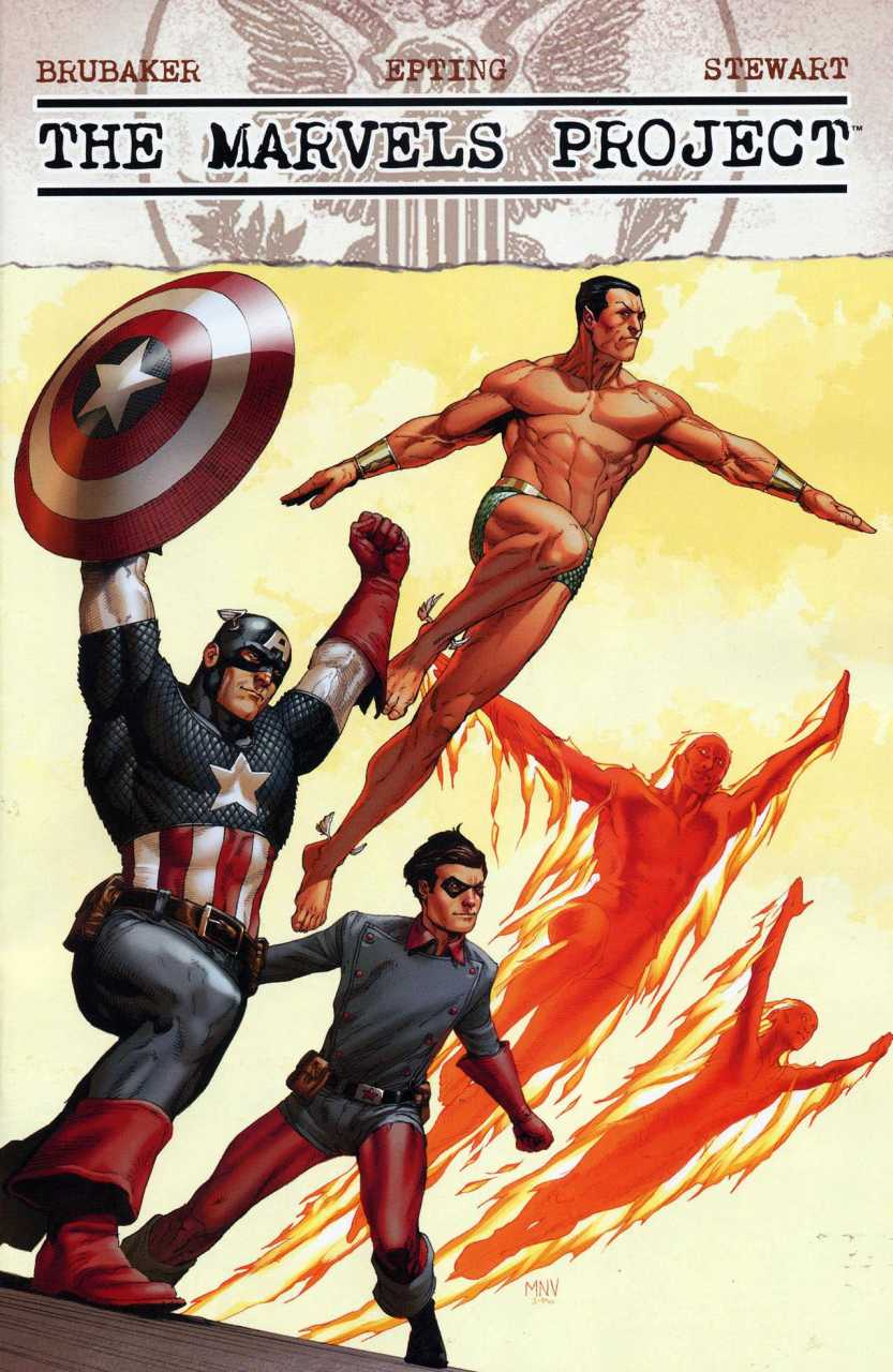 The Marvels Project #8 cover by Steve Epting