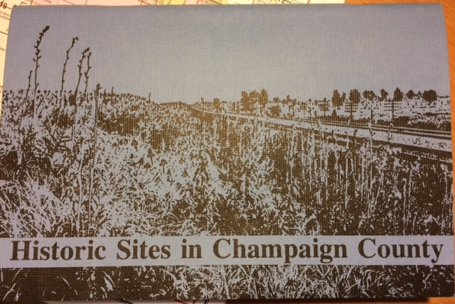 Historic Sites in Champaign Co. (revisited) | The Anchor and Comp on